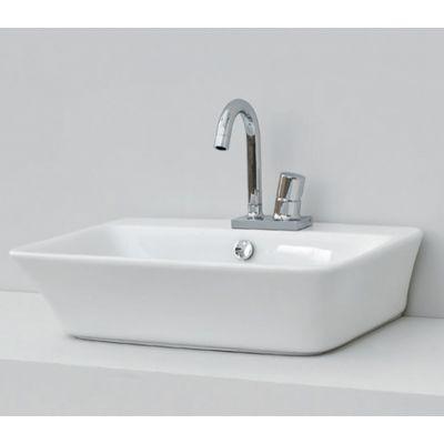 Art Ceram Cow umywalka 60x45 cm nablatowa prostokątna biała CWL00201;00