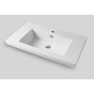 Art Ceram Gap umywalka 96x51 cm wpuszczana prostokątna biała GPL00401;00