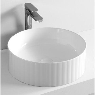 Art Ceram Millerighe umywalka 44 cm nablatowa okrągła biała OSL01001;00