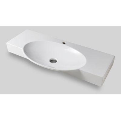 Art Ceram Swing umywalka 85x47,5 cm nablatowa prostokątna biała SWL00101;00