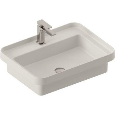 Art Ceram Fuori Scala umywalka 60,5x45,5 cm wpuszczana prostokątna biała TFL03401;00