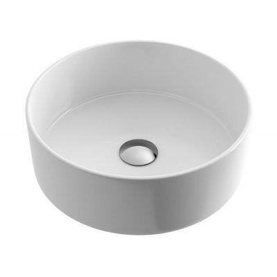 Actima Ovia umywalka nablatowa 37 cm okrągła biała CEAC.2501.WH