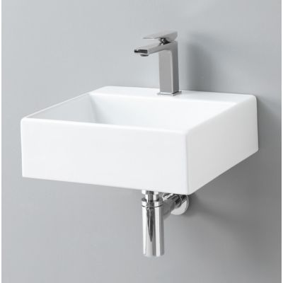 Art Ceram Quadro umywalka 40x38 cm prostokątna biała QUL00501;00