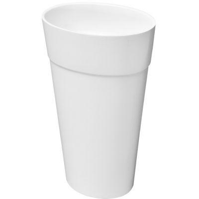 Besco Uniqa umywalka 46x32x84 cm wolnostojąca owalna biała #UMD-U-WO