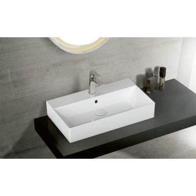 Bathco Spain Bruselas umywalka 50x42 cm nablatowa biała 4105