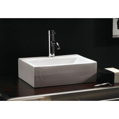 Bathco Spain Gerona umywalka 42,5x30,5 cm prostokątna biała 0037