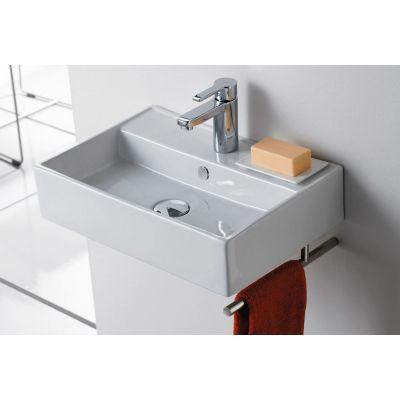 Bathco Spain Turin umywalka 50x35 cm prostokątna biała 0017B