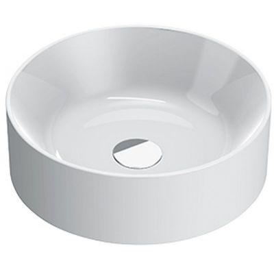 Catalano Zero umywalka 40 cm nablatowa okrągła biała 140TZE00