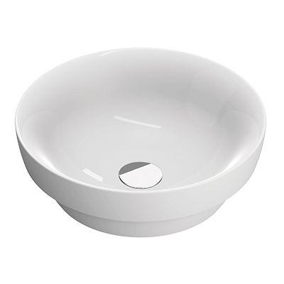 Catalano Sfera umywalka 45 cm okrągła wpuszczana biała 145ASFN00