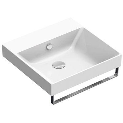 Catalano New Zero umywalka 50 cm kwadratowa biała 150ZP00