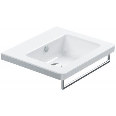 Catalano New Light umywalka 55x48 cm prostokątna biała 155LI00