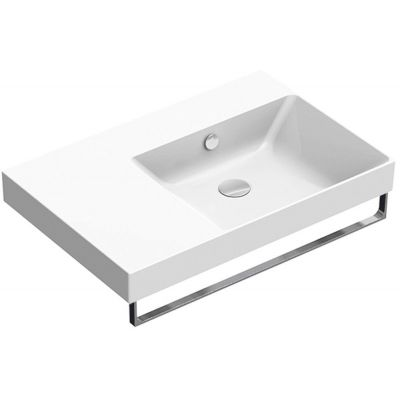 Catalano New Zero umywalka 75x50 cm prostokątna biała 175DZEUP00