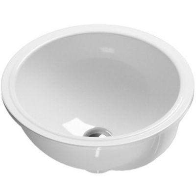 Catalano Sottopiano umywalka 40 cm okrągła biała 1SO4000