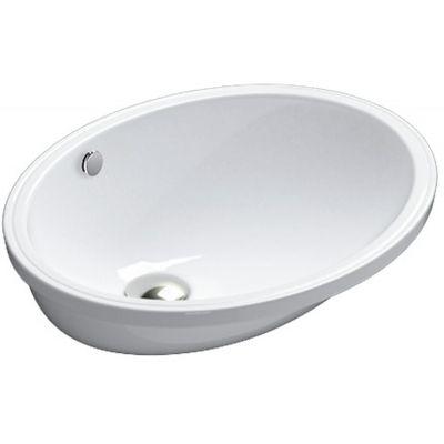 Catalano Sottopiano umywalka 52x42 cm podblatowa owalna biała 1SO5200