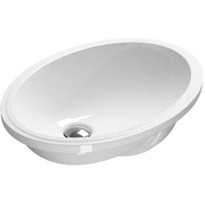 Catalano Sottopiano umywalka 57x42 cm owalna biała 1SONN00