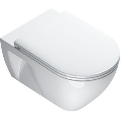 Catalano Sfera Eco miska WC Rimless wisząca biała 1VSF54RECO00