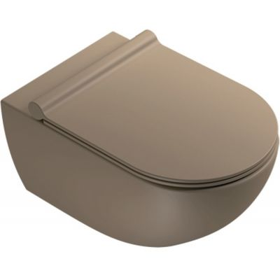 Catalano SferaNF 54 deska sedesowa wolnoopadająca satin brown 5SCSTPMS