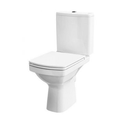 Cersanit Easy New zestaw WC kompakt CleanOn z deską wolnoopadającą biały K102-028