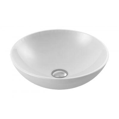 CeraStyle Zero umywalka 46 cm nablatowa okrągła biała 071600