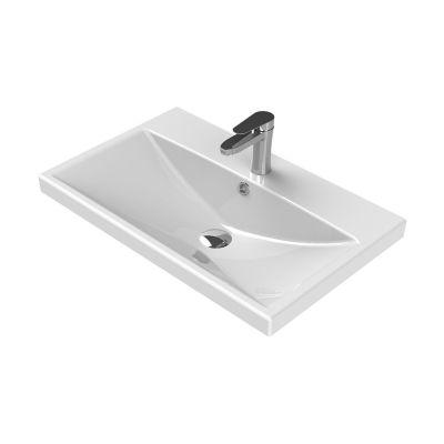 CeraStyle Elite umywalka 70x45 cm meblowa prostokątna biała 032100-u