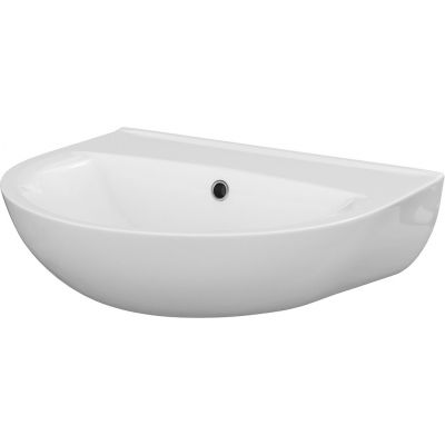 Cersanit President umywalka 50 cm półokrągła biała K08-003