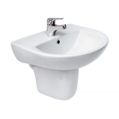 Cersanit President umywalka 55 cm półokrągła biała K08-007