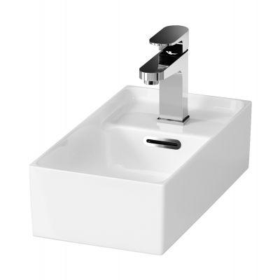 Cersanit Crea umywalka 40x22 cm meblowa prostokątna biała K114-004