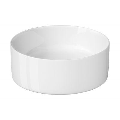 Cersanit Crea umywalka 38 cm nablatowa okrągła biała K114-020