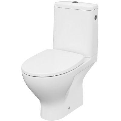 Cersanit Moduo miska WC CleanOn kompakt z deską slim wolnoopadającą Wrap biała K116-024