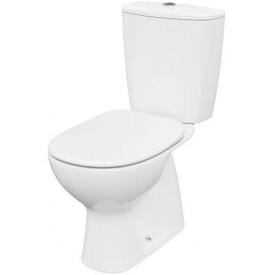 Cersanit Arteco miska WC kompakt CleanOn z deską wolnoopadającą biała K667-074
