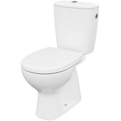 Cersanit Arteco miska WC kompakt CleanOn z deską wolnoopadającą biała K667-075