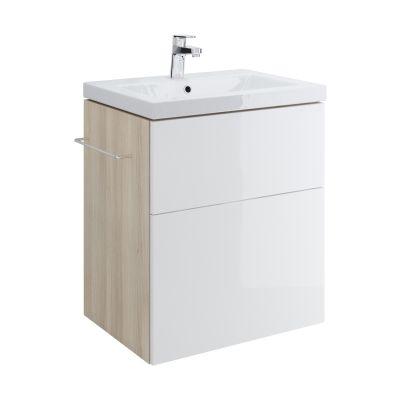 Cersanit Smart szafka 60 cm podumywalkowa wisząca biała S568-018