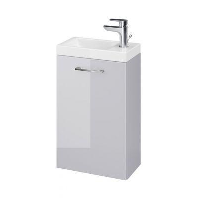 Cersanit Lara umywalka z szafką 40 cm zestaw meblowy szary S801-189