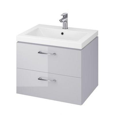 Cersanit Lara umywalka z szafką 60 cm zestaw meblowy szary S801-213