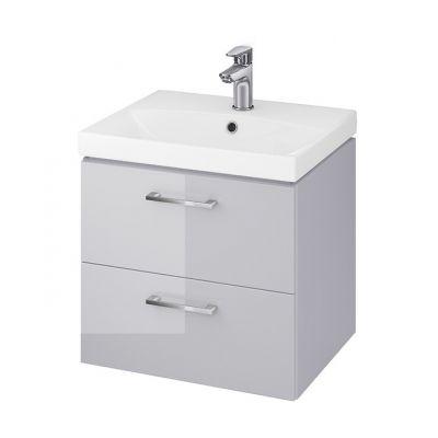 Cersanit Lara umywalka z szafką 50 cm zestaw meblowy szary S801-215