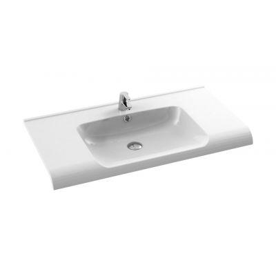 CeraStyle Anova umywalka 100 cm meblowa biała 090800-u