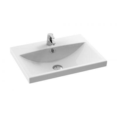 CeraStyle Elite umywalka 60x45 cm meblowa prostokątna biała 032000-u