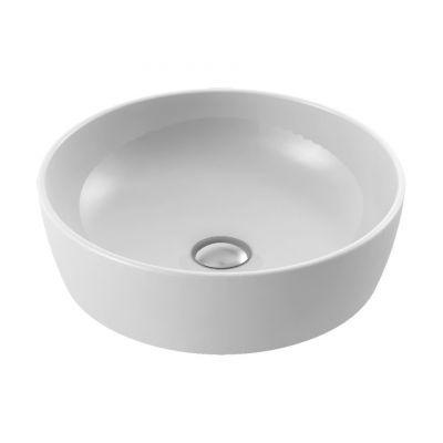 CeraStyle One umywalka 46 cm nablatowa okrągła biała 076100