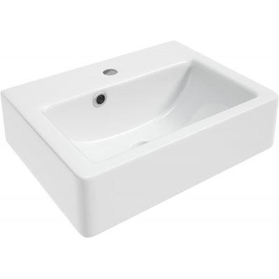 Defra Matrix umywalka 40x28 cm meblowa prostokątna biała 1410