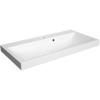 Defra Olex umywalka 80x40 cm meblowa prostokątna biała 2014