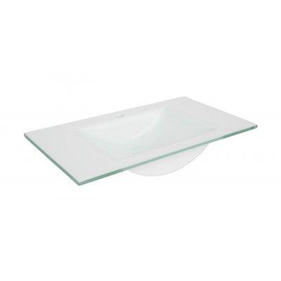 Defra Puro umywalka 80 cm szklana 3074