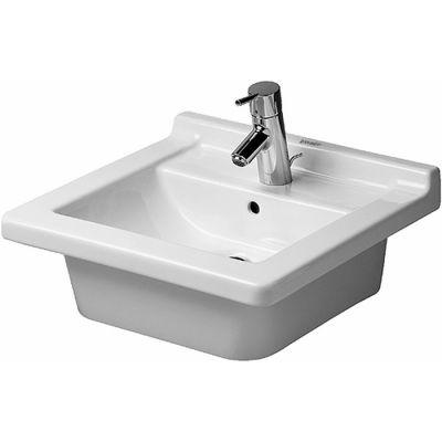 Duravit Starck 3 umywalka 48x46,5 cm meblowa prostokątna biała 0303480000