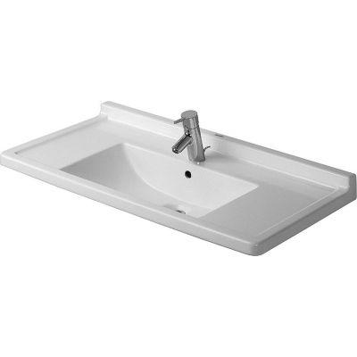 Duravit Starck 3 umywalka 85x48,5 cm prostokątna biała 0304800000