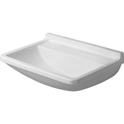 Duravit Starck 3 Med umywalka 60x45 cm ścienna prostokątna biała 0307600000