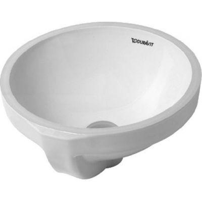 Duravit Architec umywalka 27,5 cm podblatowa okrągła biała 0319270000