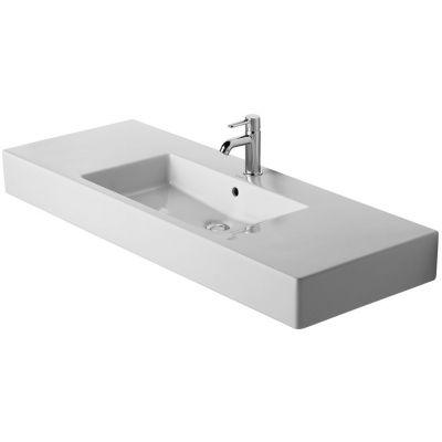 Duravit Vero umywalka 125x49 cm meblowa prostokątna biała 0329120000