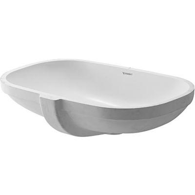 Duravit D-Code umywalka 49,5x29 cm podblatowa prostokątna biała 0338490000