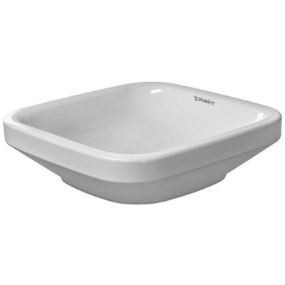 Duravit DuraStyle umywalka 43x43 cm nablatowa kwadratowa biała 0349430000