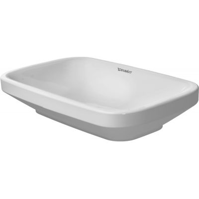 Duravit DuraStyle umywalka 60x38 cm nablatowa prostokątna biała 0349600000