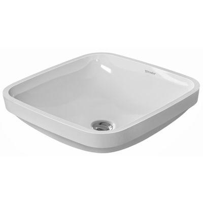 Duravit DuraStyle umywalka 37x37 cm podblatowa kwadratowa biała 0373370000